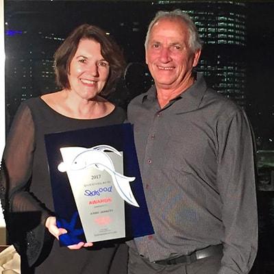 Annie Jarret - Winner QLD Seafood Ambassador Award 2017