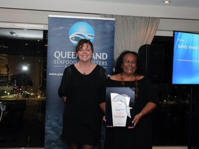Safety Award winner, Torres Strait Marine safety Programme