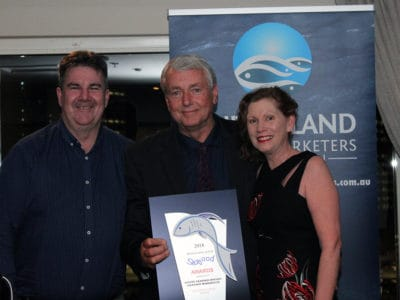 Large Business Award winners Ian & Julie Hamilton, Aussie Seafood Houses / Seafood Warehouse