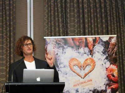 Speaker - Ben Hale, Love Australian Prawns Campaign